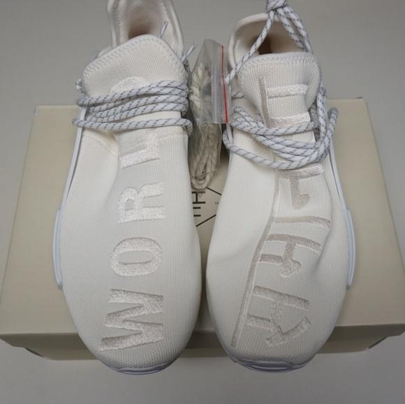 info for 5f5a5 8ae86 Adidas x Pharell NMD Human Race Blank Canvas NWT
